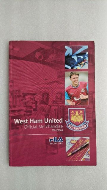 WEST HAM UNITED ( Official Merchandise Magazine 2002/3